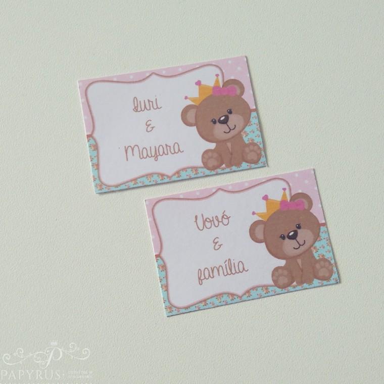 tag ursa princesa festa ursinha festa de menina festa personalizada festa linda